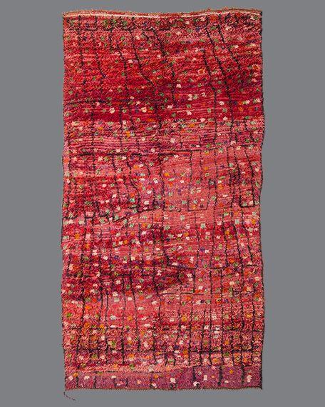 Vintage Moroccan Aït Bou Ichaouen Carpet TS20