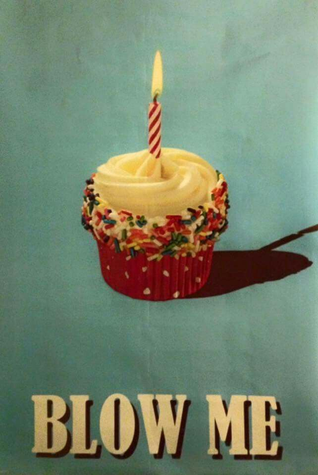 #birthday #quotes #bday #cupcake #food #funny #candle
