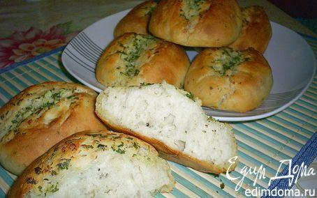 Японские чесночные хлебцы   Кулинарные рецепты от «Едим дома!»