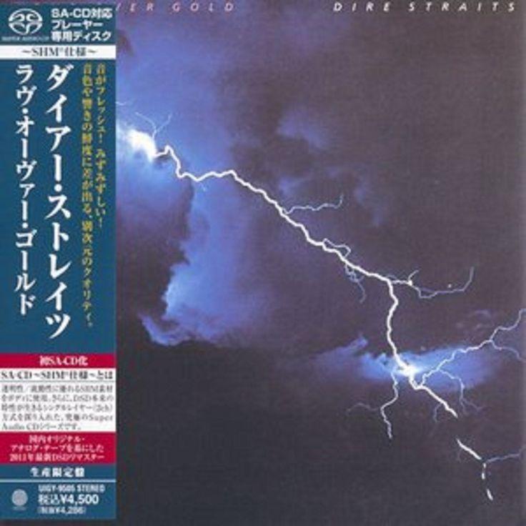 Dire Straits - Love Over Gold - Japan Mini LP SACD-SHM - UIGY-9505 - CD