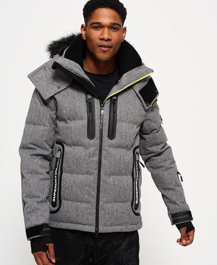 2192c232 Superdry Deluxe Nordic Snow Puffer Jacket | Eros Khan in 2019 ...