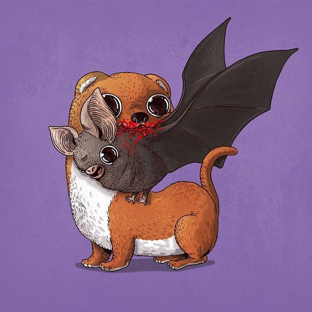 cute-gruesome-animal-drawings-predator-prey-alex-solis-alexmdc-14