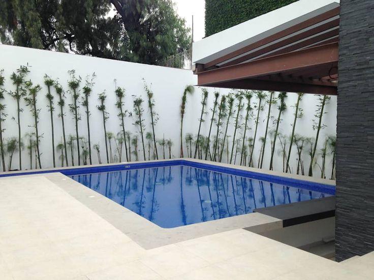 Residencia albercas de estilo moderno por cesar moncada - Residencia de manila swimming pool ...