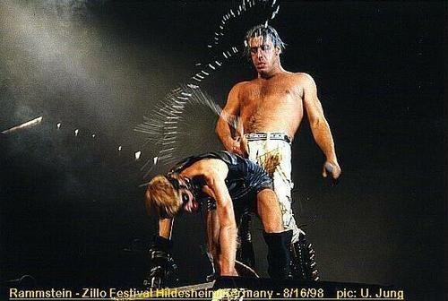 Till Lindemann & Flake Lorenz (Rammstein - Buck Dich. #TillLindemann #FlakeLorenz #Rammstein #BuckDich