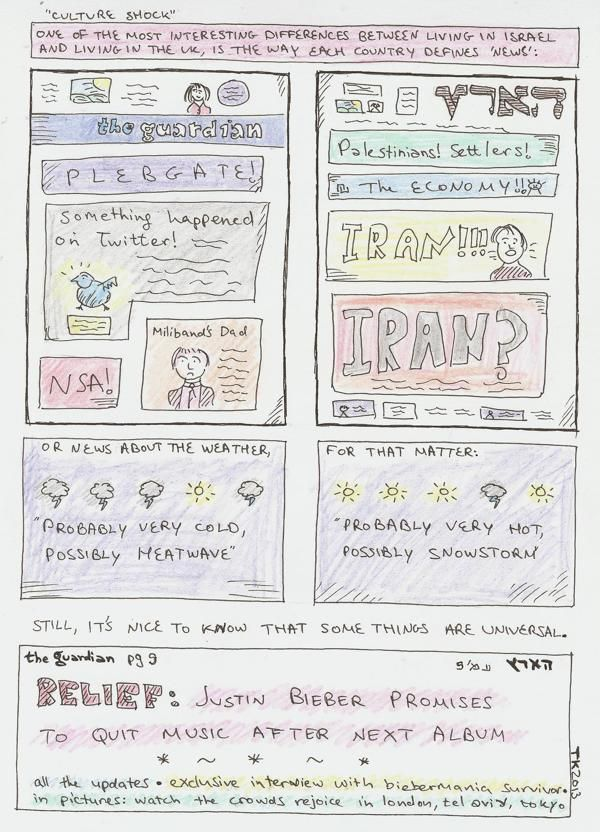 Loosely Based on True Events (Comics) by Tali Kord, via Behance