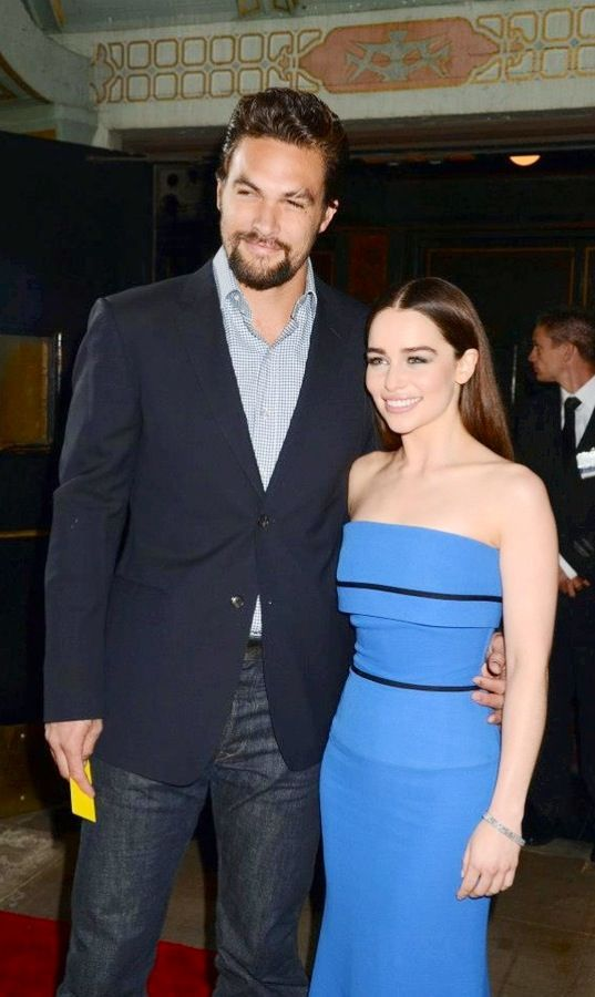 Jason Momoa and Emilia Clarke - Game Of Thrones ❤