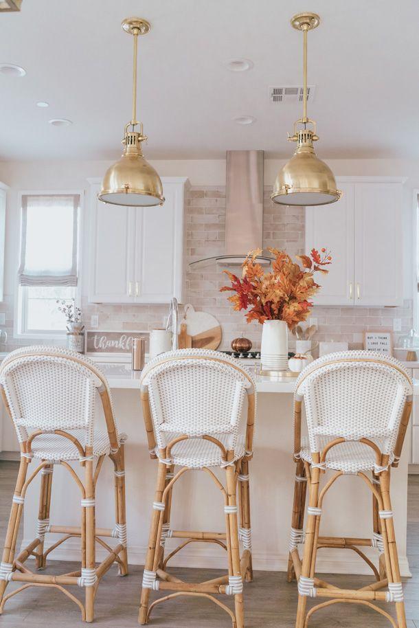 White Wicker Bar Stools Brass Pendant Lights Kitchen Pendant Lighting Wicker Bar Stools Inexpensive Home Decor