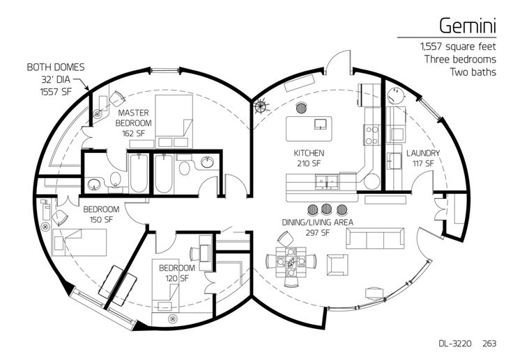 59 best circles images on pinterest round house dome for Gemini homes
