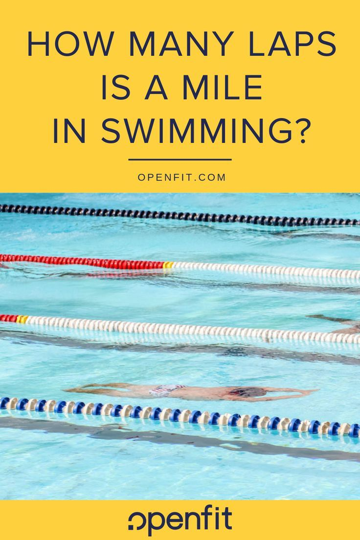 How Many Pool Laps Is A Mile