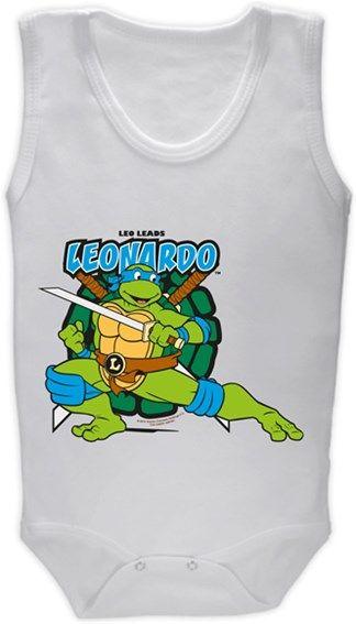 Ninja Kaplumbağalar - Leonardo Kendin Tasarla - Bebek Zıbın