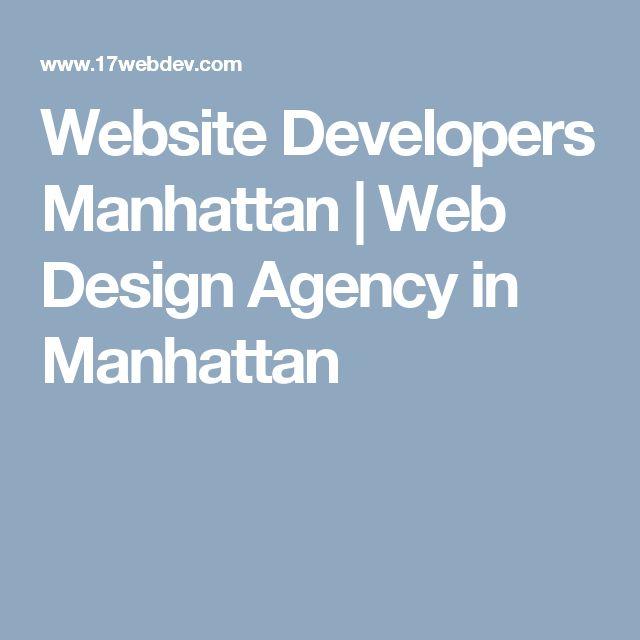 Website Developers Manhattan | Web Design Agency in Manhattan