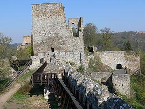 Cornštejn Castle.