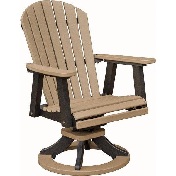 berlin gardens comfoback outdoor swivel rocker poly dining chair u20ac635