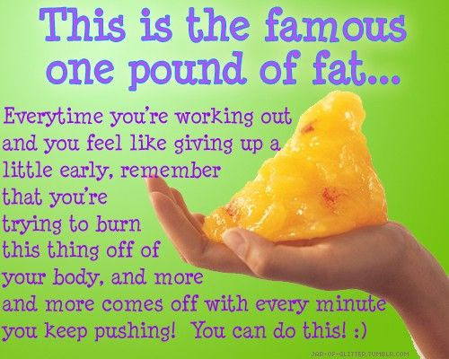 One Pound of Fat... -PositiveMed | Positive Vibrations in Health