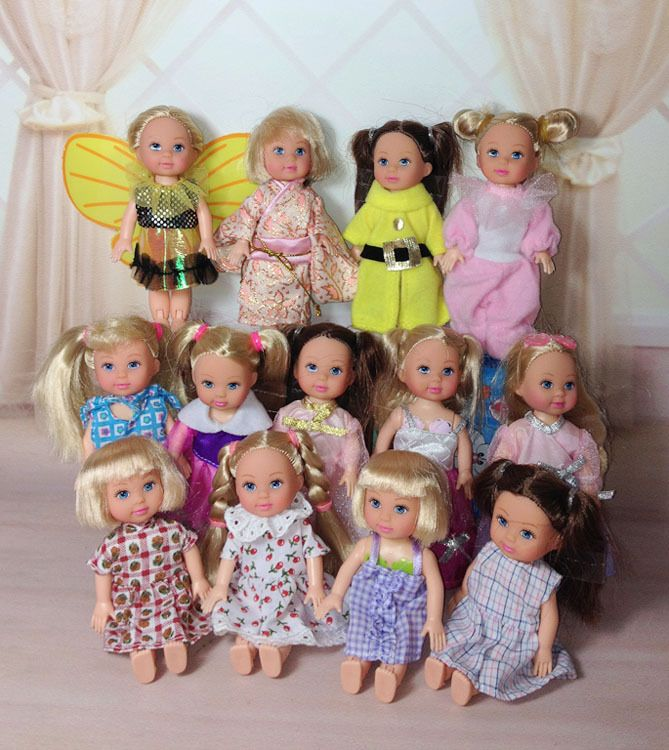 AILAIKI Wholesale Cute Little Kelly Casual Clothing Sets Dresses For Simba Dolls Mixed Styles Mini Dolls Princess Clothes Toy #Affiliate