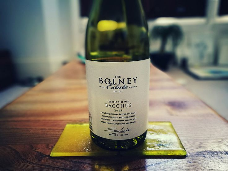 Are Sussex wines the next big thing? I spent April Fool's Day wine-tasting at Bolney Estate vineyard, Sussex, UK. This Bacchus was my favourite. Click to read my feature.
