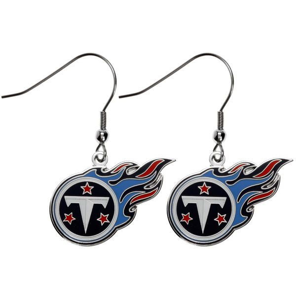 Tennessee Titans Logo Wire Earrings - $7.99