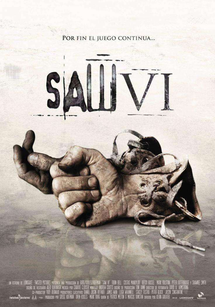"""""""SAW VI - EL JUEGO DEL MIEDO"""" (2009) ►Ver Online: http://www.peliculasmas.com/peliculas-de-terror/2753/ver/the-sw6-2009/"""