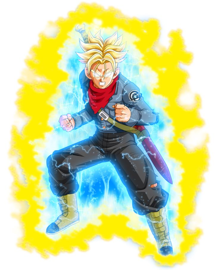 Mirai Trunks Super Saiyajin Ira DBS by jaredsongohan on DeviantArt
