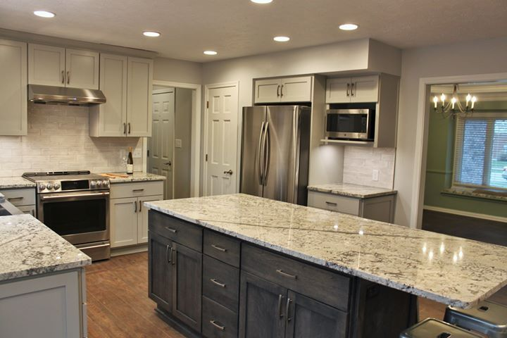 This Kitchen Previously Lacked Space And Function And Didn T Meet