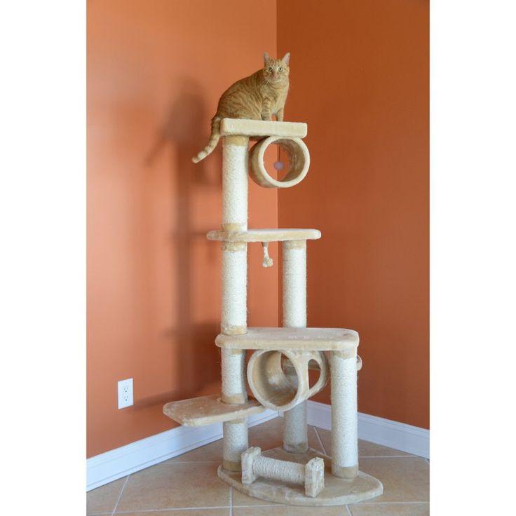 Armarkat Cat Jungle Gym Pet Furniture Condo Scratcher - A7463B - A7463B