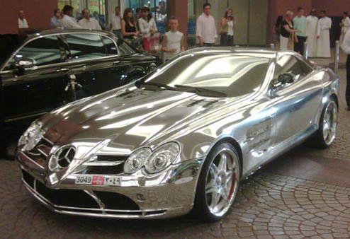 Chrome+Car+Wrap   Vehicle Wrap Trend Debate: Custom Chrome Wraps