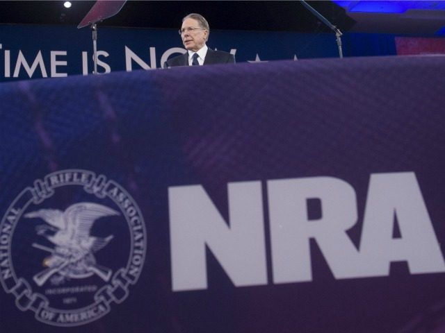 NRA?s Wayne LaPierre: Pro-Gun Voters Gave Hillary a ?Permanent Political Vacation?