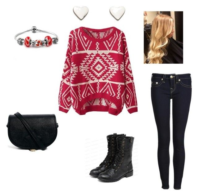 Untitled #14 by abby-mercier on Polyvore featuring polyvore, fashion, style, True Religion, yeswalker, ASOS and Fat Face