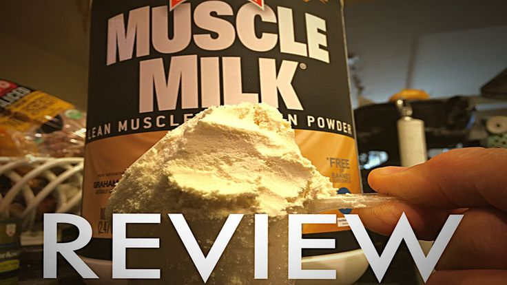 Complete review on one of the most popular protein powders on the market, muscle milk.