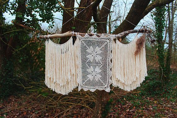 Bohemian wedding wall hanging | boho wall art | bohemian wedding decor