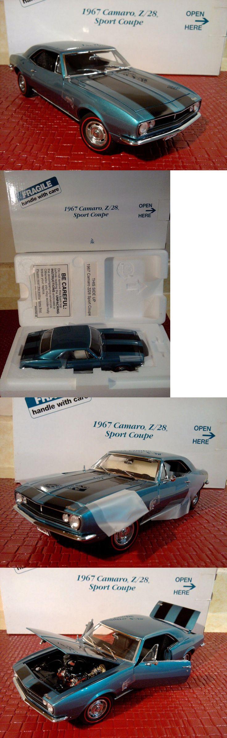 Contemporary Manufacture 180506: Danbury Mint 1967 Chevy Camaro Z 28..1:24..Nib..Undisplayed..New..Pristine -> BUY IT NOW ONLY: $128 on eBay!
