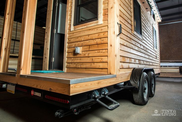 The Roving Front Porch by 84 Tiny Houses - 84 Lumber