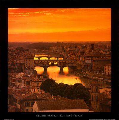 Florence - Ponte Vecchio at sunshine