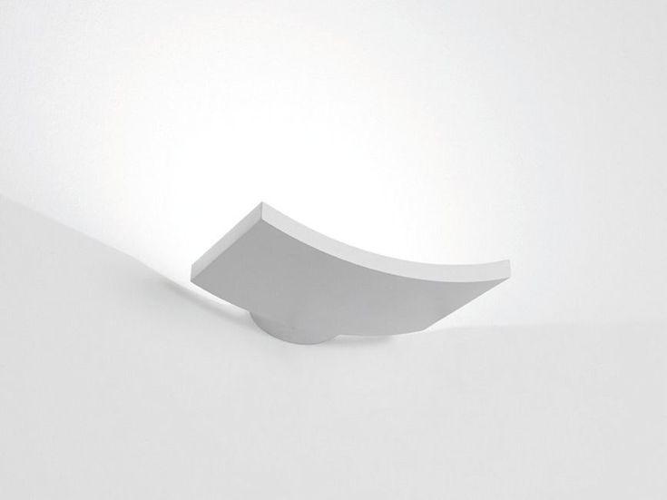 LED indirect light wall lamp MICROSURF by Artemide Italia design Neil Poulton