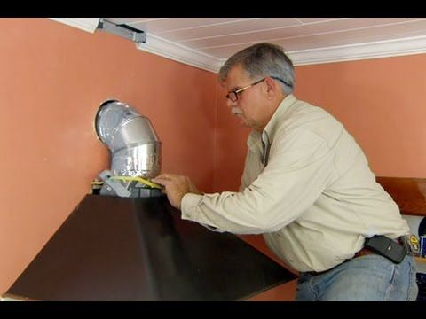 How to Install a Range Vent Hood - This Old House #house