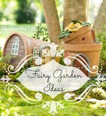 Znalezione obrazy dla zapytania fairy garden ideas