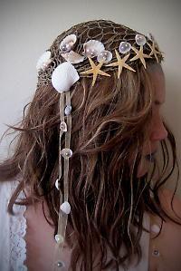 Mermaid Fantasy head pieces | ... , the princess, the sorceress ··· | ··· Your Fantasy Costume