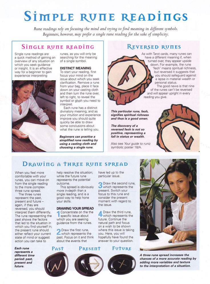 Simple Rune readings - a similar, but different method than tarot that I'm interested in trying.  This looks interesting :) Lottie x