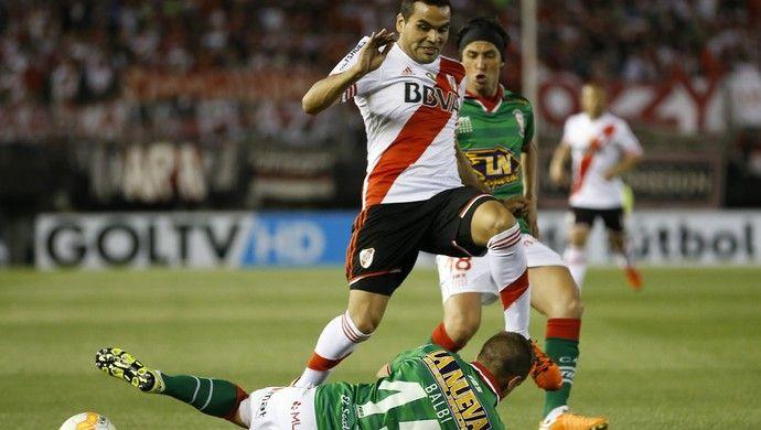 Gabriel Mercado e Balbi - River Plate x Huracán (Foto: Getty Images)