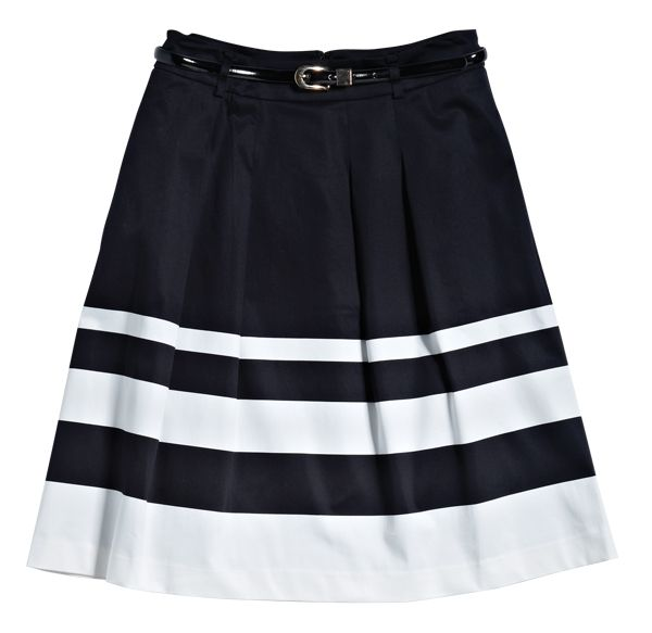 Skirt from JacquieE. #monochrome