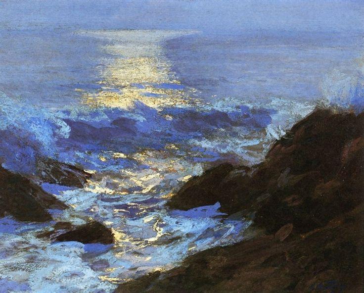 Seascape Moonlight by Edward Henry Potthast