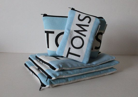 Toms bag from the flags. Great use of those flags- I have like 8 of these around here! Yay!