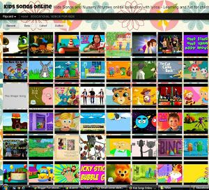 Kids Songs and Nursery Rhymes online collection with lyrics - Learning and fun for children totally free.