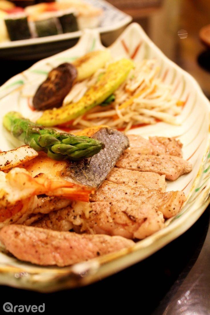 Teppanyaki Combo Lunch Set  at Nishimura