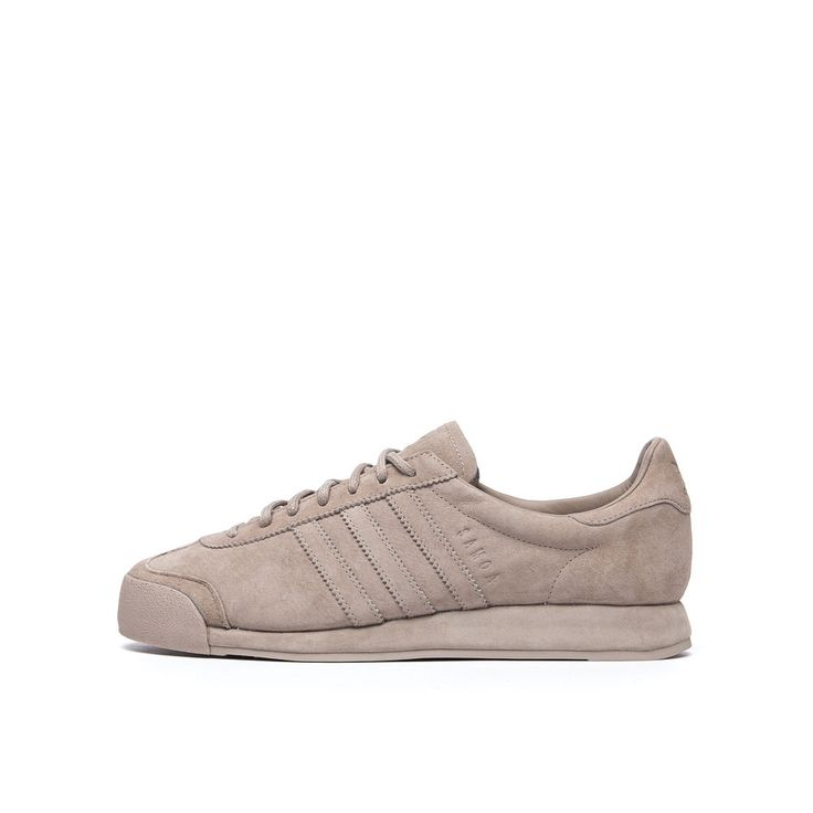 adidas Pigskin Pack Samoa in Vapour Grey Side View