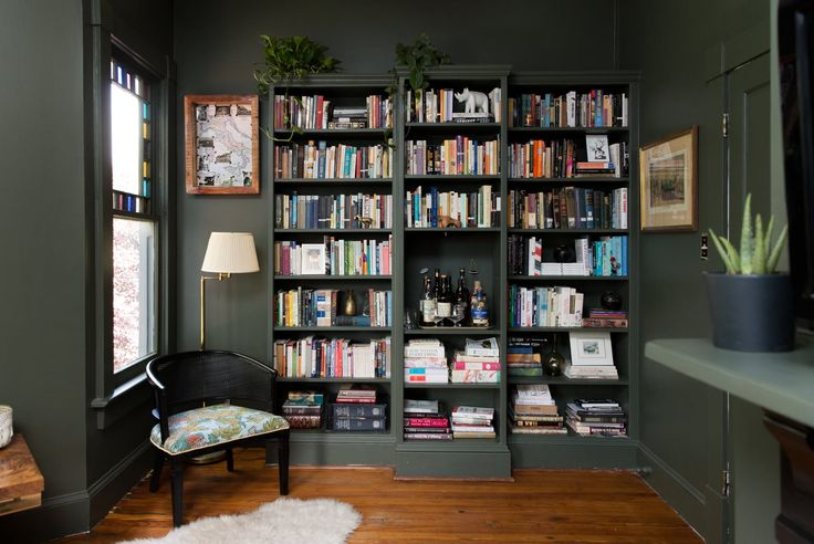 The fantastic built-in bookshelf everone's been dreaming of.