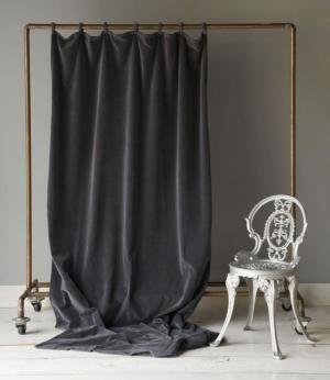 Bella Notte бархатные шторы в графите по надежды