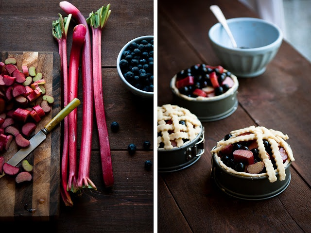 Desserts for Breakfast: Blueberry Rhubarb Deep Dish Pie