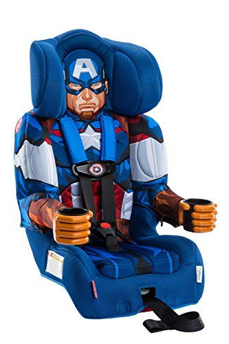 Discounted KidsEmbrace Captain America Booster Car Seat Marvel Avengers Combination 5 Point Harness Blue 12 120 5PointHarness BabyProduct
