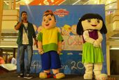 Sweety and Buddy at The Celebration Mall Udaipur